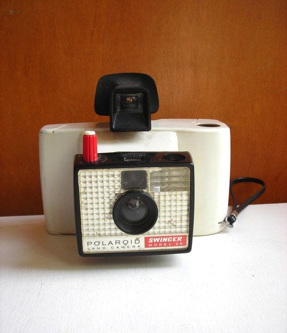 1960s Vintage Polaroid Land Camera Swinger Model 20