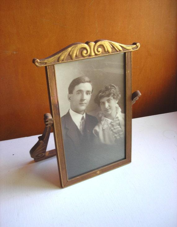 Antique Frame - Art Nouveau Swing Frame