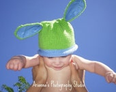 Bunny Hat Pattern / Instant Download / Baby Boy Girl Bunny Hat Pattern for Bunny Hat
