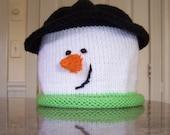 PATTERN for snowman hat  e-pattern