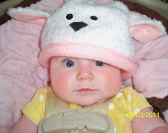 Pattern for Spring Lamb Hat-boy/girl-e pattern / debrobinson / Deb Robinson