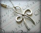 Friendship Necklace -Large Size - Best Friends - Forever Friends Angel Eternity Symbol Graduation Gift