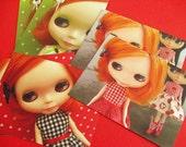 Blythe Doll Postcards - Set Of 6
