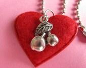 Cherries in Love Pendant