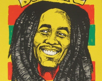 Bob Marley Last Words no. 5 limited edition screenprint