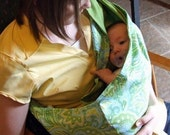 Custom Baby Sling....Reversible SnuggleBug  Pouch Sling..Over 60 Fabrics to Choose From      Ships Super Fast