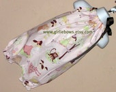 Fairies in the Park Bubble Pillowcase Romper size 3 6 9 12 18 month mo 2T 3T 4T ... By Girlie Bows
