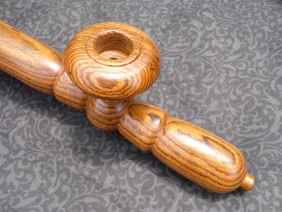 Wood Smoking Pipe Bitch In Bocote Sultan S Weed Pipe