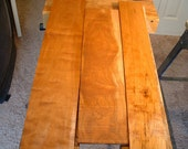 curly maple exotic hardwood boards for jewelry boxes,furniture,clocks,carving combined shipping