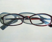 Original painting - Four Eyes - 5 by 7