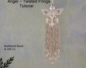 Tutorial, Swarovski Angel, Twisted Fringe - Instant Download
