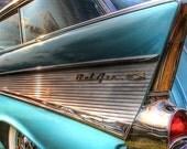 Chevy BelAir Fine Art Photograph 8x12 - Home Decor