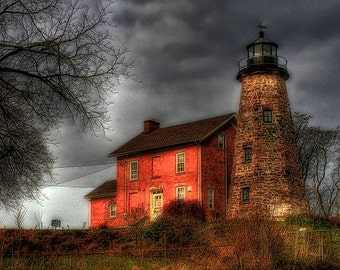 Charlotte Genesee Lighthouse Fine Art Photograph - Home Decor
