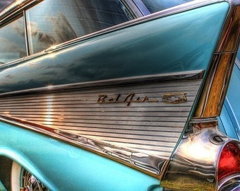 Chevy BelAir Fine Art Photograph - Home Decor