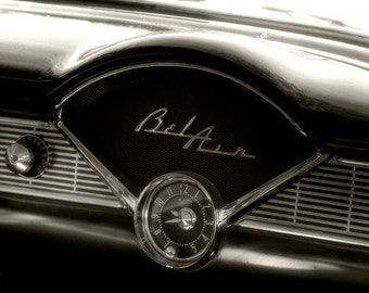 56 Chevy Belair Dash - Home Decor