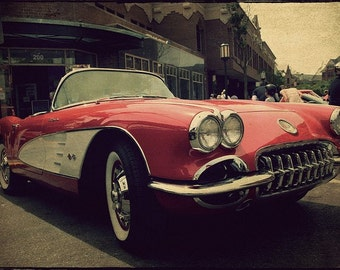 Vintage Corvette Fine Art Photograph - Home Decor