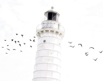 Off to the Lighthouse - Fine Art Photograph - 8x8