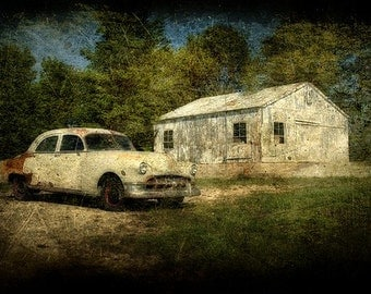 Old and Lonely - Fine Art Print - Home Decor