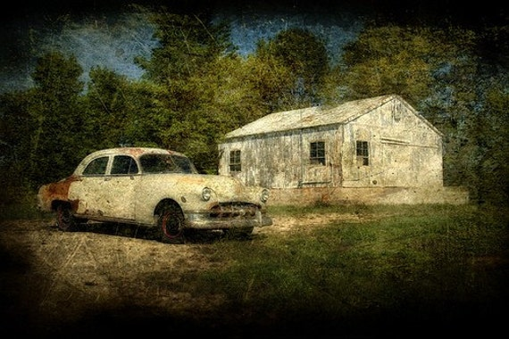 Old and Lonely - 8x12 Fine Art Print - Home Decor
