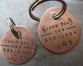 Copper Pet Tag (extra rugged))