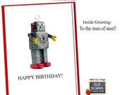 Man of Steel. BIRTHDAY CARD