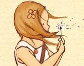 Junes White Dandelion