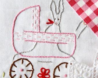 Embroidery Pattern PDF- Playing Dolls
