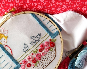 Embroidery Pattern PDF- 3 Little Birds