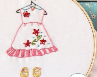 Embroidery Pattern PDF- Just Stay Little