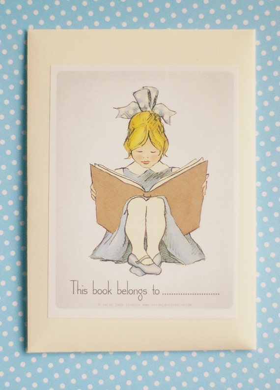 BOOKPLATES-Read with me