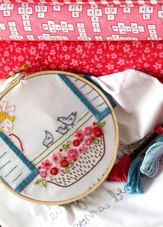 Embroidery Pattern PDF- 3 Little Birds