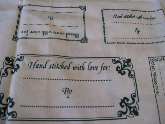 cloth labels for handmade items fabric labels for handmade items panel widths by 8671