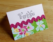 Custom Mini Thank You Cards - Reserved for SleepyTimez