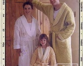 CLASSIC CHENILLE ROBE - Favorite Things Pattern - for Children and Adults -UNCUT
