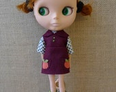 Blythe - Apple Outfit by winisheep