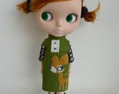 Blythe - Bambi Outfit by winisheep