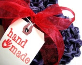 Hand-Printed Tags for Your Handmade Gifts