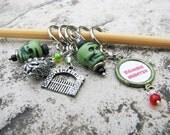 Zombie Apocalypse Non-Snag Stitch Markers