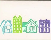 House Notecards - Set of 4