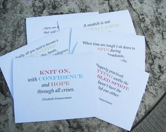 Elizabeth Zimmermann notecards
