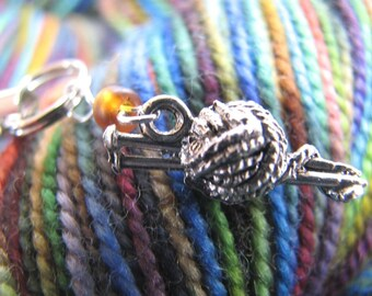 Cell Phone Charm for Knitters