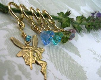 Fairy and Flower Stitch Markers