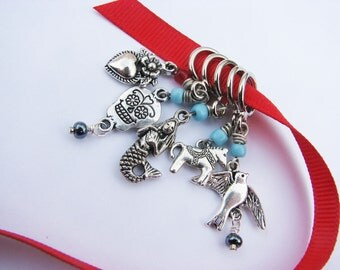 Non-Snag Stitch Markers - Milagros