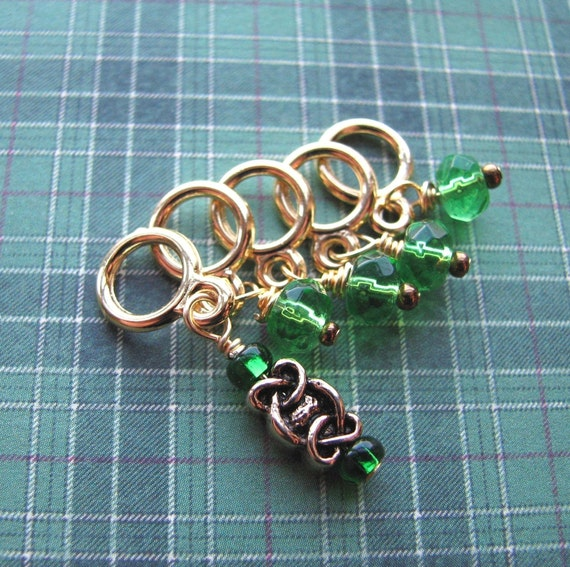 Lucky Celtic Stitch Markers