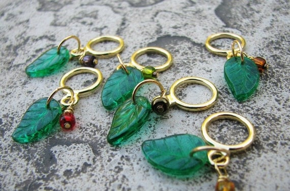 Non-Snag Stitch Markers - Autumn Berries