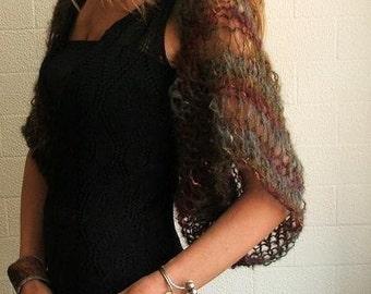 Ostrich Autumn shrug Ltd Edition