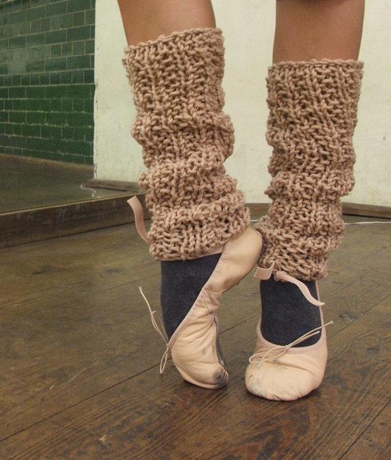 leg warmers camel pink