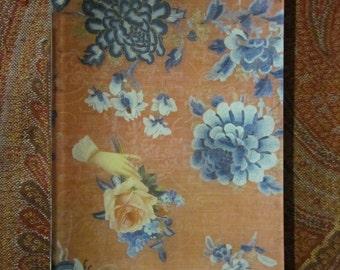 Romantic Victorian Friendship Rose Decoupage Tray