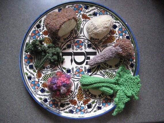 Passover Seder Plate Pattern