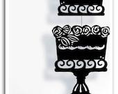 Cake Silhouette Mobile - Sale